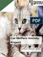 Cat Welfare Society Pitch