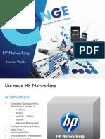 HP Networking Portfolio
