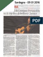 [ITA] - La Nuova Sardegna - Top 5 2015