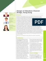 Design of Aberdeen Channel Bridge_Hong Kong