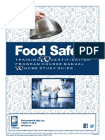 Food Safety Training Course Manual