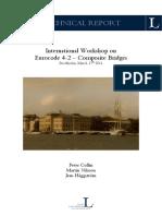 International Workshop on Eurocode 4-2 – Composite Bridges