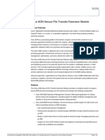Cisco AON Secure File Transfer Extension Module