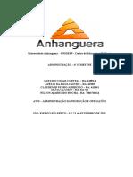 ATPS Administração Da Produção e Operações 3