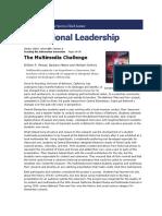 Multimedia Challenge the Penuel W.R. Means B. Simkins M.