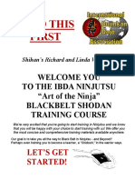 Read This First Section Black Belt Home