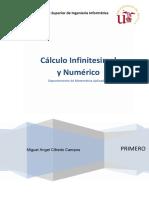 CIN - Cálculo Infinitesimal y Numérico