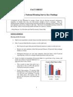 Housing Survey Fact Sheet - Fannie Mae