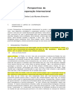 [1994] Perspectivas Da Cooperação Internacional (Celso Amorim)