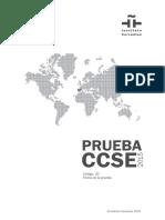 Modelo de La Prueba CCSE - Notilogía Esp
