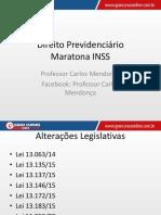Direito Previdenciário - Maratona INSS
