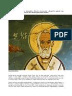 Sfântul Ierarh Nicolae – Modelul Prunciei Sfinte