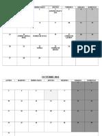 Calendario VALIDO.