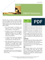 DBLM Solutions Carbon Newsletter 23 July 2015