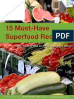 15 Must Have Superfood Recipes