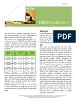 DBLM Solutions Carbon Newsletter 03 Sep 2015