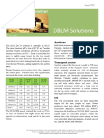 DBLM Solutions Carbon Newsletter 01 Oct 2015