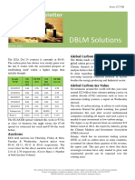DBLM Solutions Carbon Newsletter 29 Oct 2015