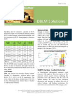 DBLM Solutions Carbon Newsletter 12 Nov 2015