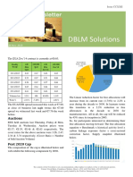 DBLM Solutions Carbon Newsletter 26 Nov 2015