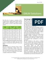 DBLM Solutions Carbon Newsletter 19 Nov 2015