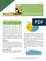 DBLM Solutions Carbon Newsletter 26 Nov 2015