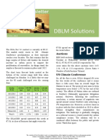 DBLM Solutions Carbon Newsletter 17 Dec 2015