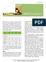DBLM Solutions Carbon Newsletter 07 Jan 2016
