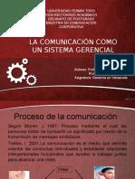 La Comunicacion Como Un Sistema Gerencial Unidad