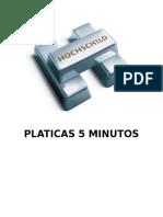 Platicas Seguridad Industrial 5 Minutos