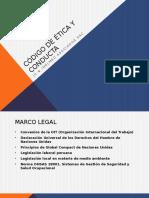 Presentación - Código de Ética y Conducta