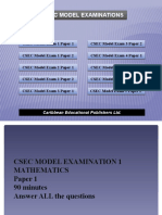Mathematics Model Exam vol 2 pptdesign 140508165753 Phpapp01