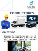 Conductores Proced e IPERC
