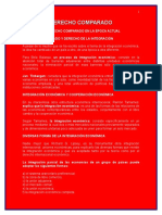 Tema VII El Derecho Comparado en La Época Actual.