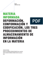 Materia Informada