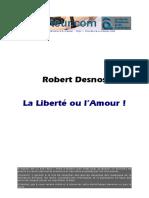 Robert Desnos - La Liberté Ou l'Amour