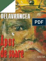 Delavrancea Barbu - Apus de Soare (Cartea)