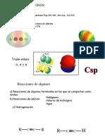 Quimica Organica I.  Alquinos