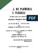 Manual de Plomeria y Tuberia