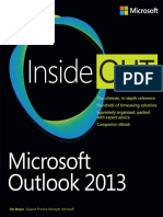 Inside out Microsoft Outlook 2013