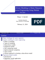 Data Driven Model