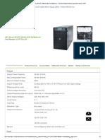 APC Smart-UPS RT 20kVA Specifications