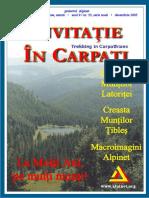 Invitatie in Carpati 2005 Decembrie