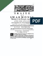Rameau — Traité de l'Harmonie