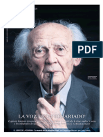 Zygmunt Bauman entrevistado en Babelia 9-1-2016