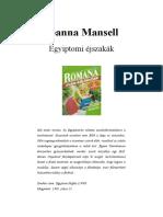 RKSZ 1992 03 (b) - Joanna Mansell - Egyiptomi Éjszakák
