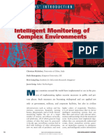Intelligent Monitoring of Complex Environments