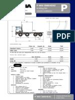 Camion Scania - P460C - B8x4EHZ