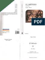 Morin 1991 El Metodo 4 Las Ideas Ocr