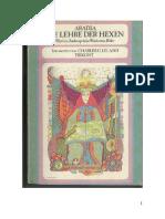 Charles G. Leland - Aradia, die Lehren der Hexen.pdf